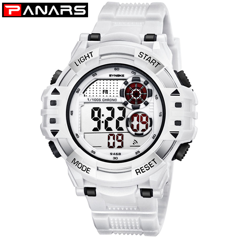 PANARS Outdoor Sports Watches Men Climbing Running Digital Wristwatches Big Dial Military Alarm Shock Resistant Waterproof Watch