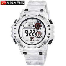 PANARS Outdoor Sports Watches Men Climbing Running Digital Wristwatches Big Dial