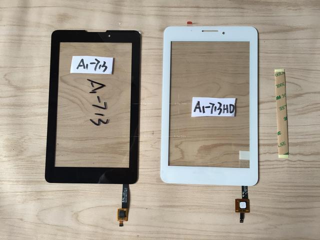Датчик черный / белый для Acer Iconia Tab 7 A1-713 A1-713HD сенсорный экран планшета стеклянный экран + 3 м наклейка + отслеживания