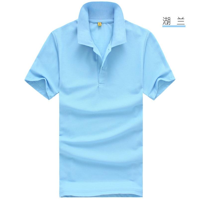 2019 Shirt Men Clothing short Sleeve Tees for women summer style classic tops Blue Black White