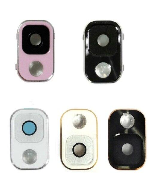 2 pièces/lot couvercle de bague dobjectif de caméra et lunette pour Samsung Galaxy Note 3 SM-N9005 N900A N900T N900V blanc noir rose couleur