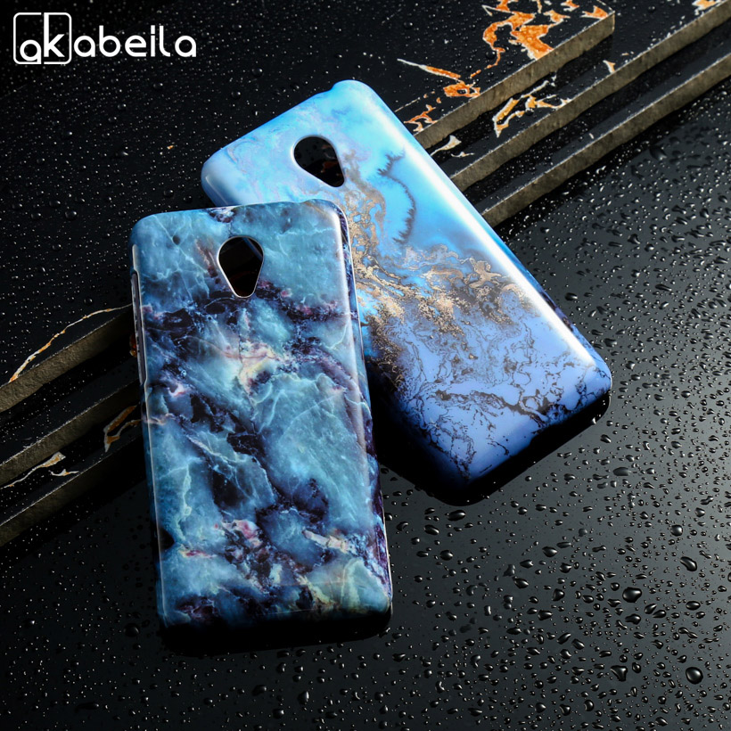 Phone Cases For Meizu M2 Mini Meilan 2 5 Dual SIM 4G LTE Meilan2 Back Cover Mobile Phone Accessories Marble Shell Housing Bag