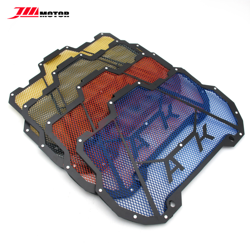 New Arrival 4 Colors Motorcycle Stainless Steel Radiator Protective Guard Grill Cover For Kymco Ak550 Ak 550 2017 2018