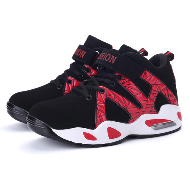Chaussures de sport pour hommes mode casual de haute qualité ainsi que des chaussures de basket-ball en velours respirant pMfsWpBX0