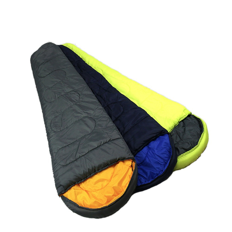 Image 2 - VILEAD 2 Colors Mummy type Ultralight Sleeping Bag Portable Waterproof Hiking Camping Sleep Bed Stuff Adult Quilt Lightweight-in Sleeping Bags from Sports & Entertainment