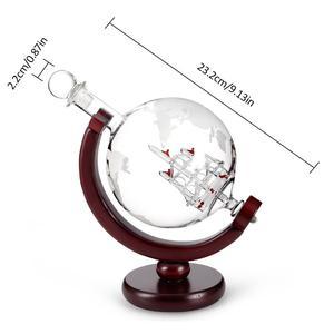 Image 5 - Carafe en verre avec carte rouge cristal, 800ML, carafe pour vin, pour Bar, carafe, bouteille deau de Champagne