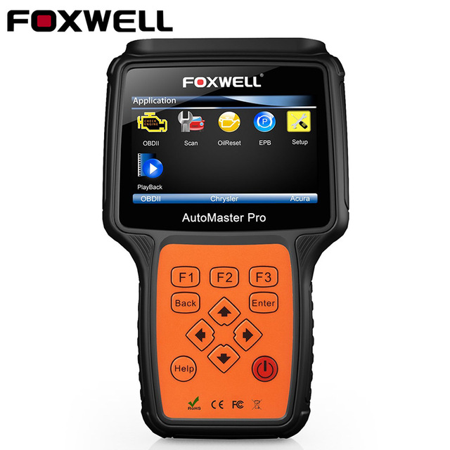 Foxwell NT624 Pro Multi Brand System Transmission ABS Airbag SRS Engine Automotive Diagnosis Universal Car OBD 2 Diagnostic Tool