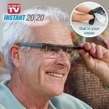 Reading Eyeglasses with Adjustable Focus
