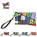 Purchase Hot Sales BRITTO PU Coin Wallet Card Passport Holder Cover For Girl's Key Pouch Colored Graffiti Cute Money Zipper Bag