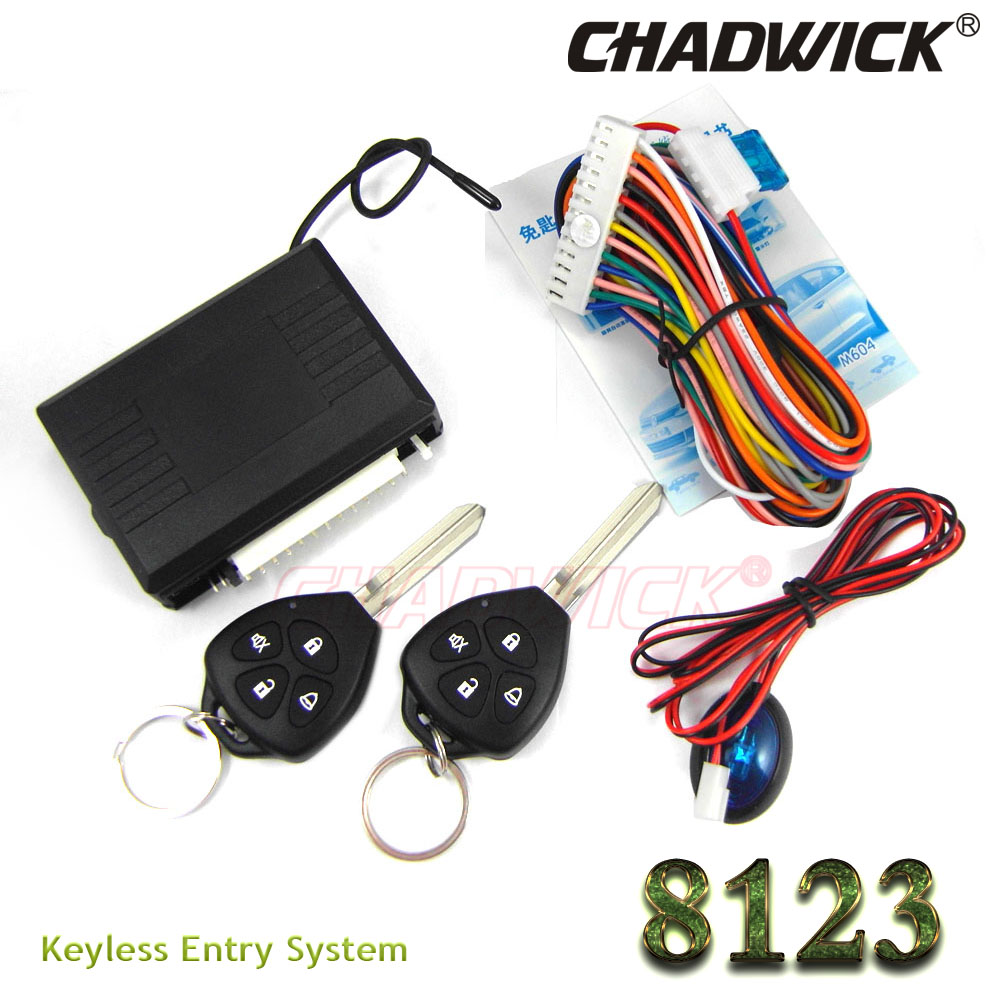 4 buttons remote blank key Keyless Entry System for Toyota car 12V Central lock Locking system with LED indicator CHADWICK 8123 flip key remote keyless entry system for hyundai car 12v central lock locking system with led indicator chadwick 8118 car alarm