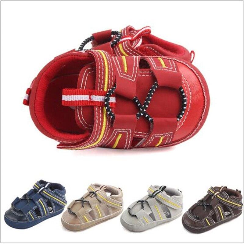 Best качество Лето Обувь для младенцев Обувь для малышей противоскользящие для младенцев мальчик Обувь для девочек Обувь для младенцев ...