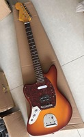 New Arrival Left Handed Upscale Electric Guitar 6 String In Sunburst 170718