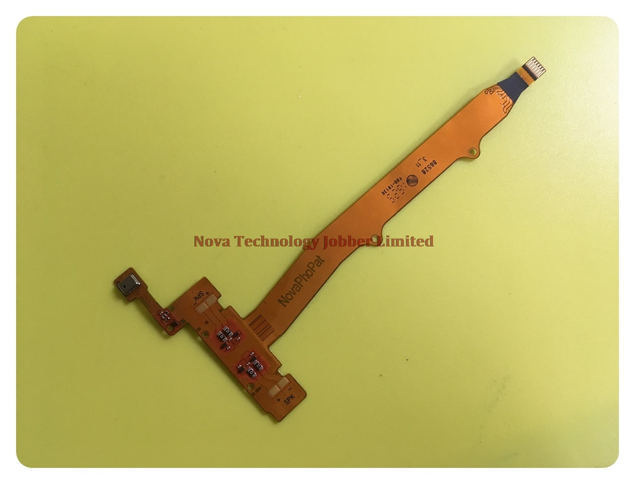 Wyieno For Lenovo A6010 Microphone flex Cable Mic Connector Replacement +Tracking Number