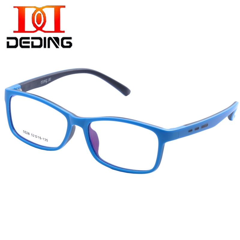 DEDING Unbreakable Kids Silicone Rectangle Flexible Glasses Frame ...