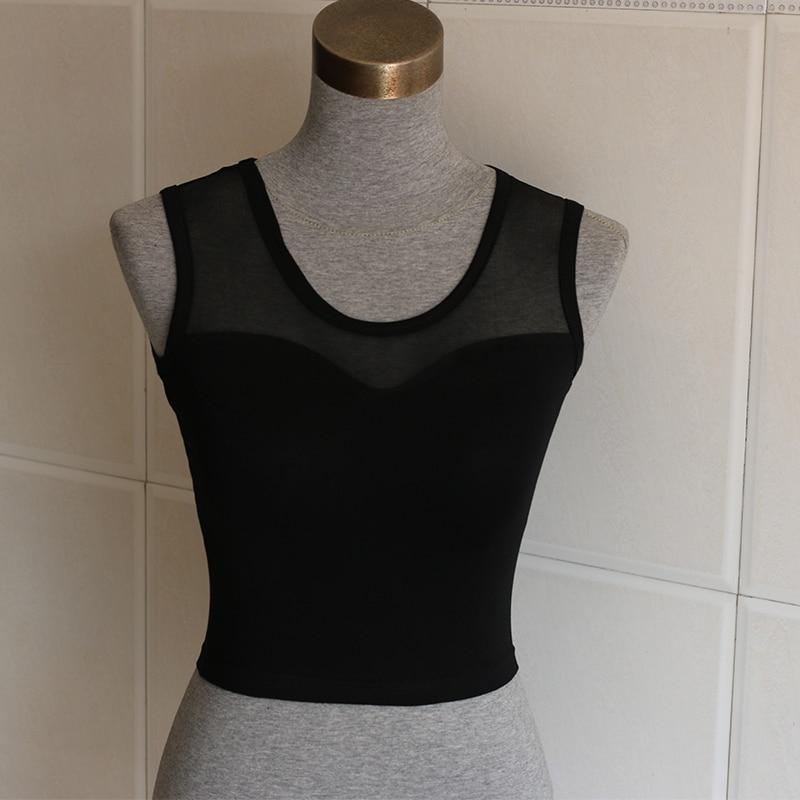 Регата Feminina, сексуальный женский Повседневный хлопковый сетчатый камзол/женский топ без рукавов, укороченный топ, футболка