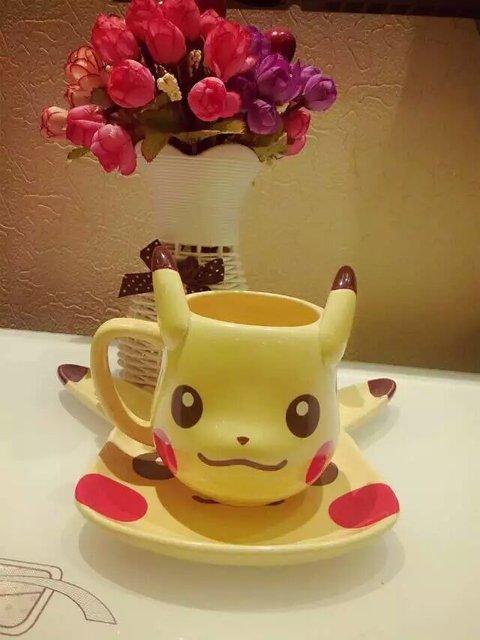 pokemon mugs pikachu mugs coffee cups ceramic funny mug home decal