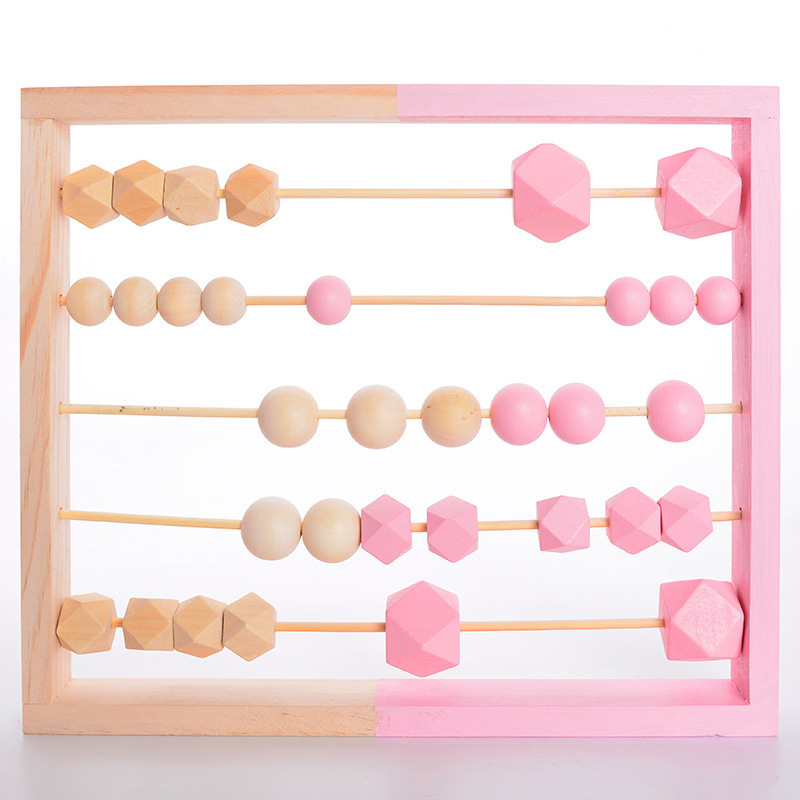 LM615 Abacus Wood  Montessori Learning Toy