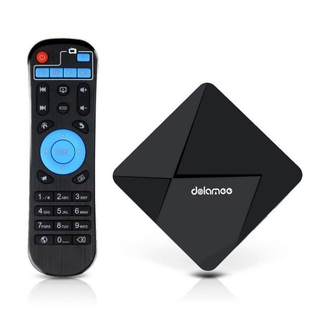 DOLAMEE D5 WiFi D5 TV BOX KODI XBMC RK3229 Quad Core Android 5.1 1+8GB 4K Smart TV Media Player H.265 US/EU/AU/UK plug