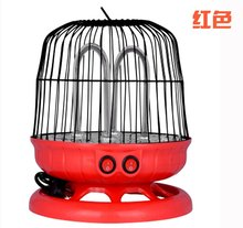 220V 450W/900W dual bird cage halogen electric heater with 90cm cable(China)