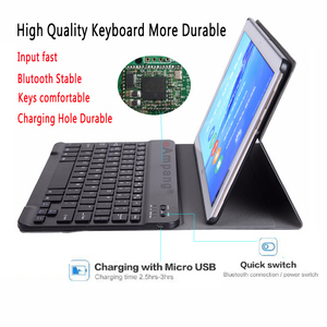 Image 3 - Bluetoothキーボードケースhuawei社mediapad M5 lite 8 8.0 JDN2 W09 JDN2 AL00 ケースキーボードhuawei社M5 lite 8 カバーfunda + ペン