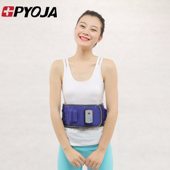 GPYOJA Heat Function Vibro Weight Loss Slimming Massage Belt For Waist Leg Slimming Machine Electric Health Care Tools body bulding weight loss slimming massager fat burning vibro massage belt with heat function free shipping