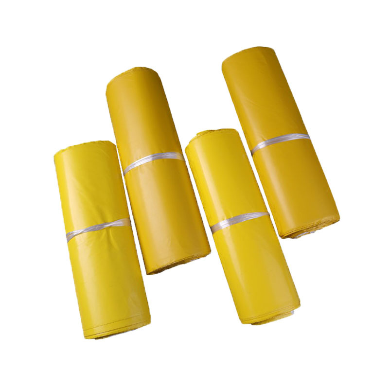 (10 Pieces/lot) Yellow Express Bag Thickening Courier Bag Envelope Logistics Documents International Packaging Bags