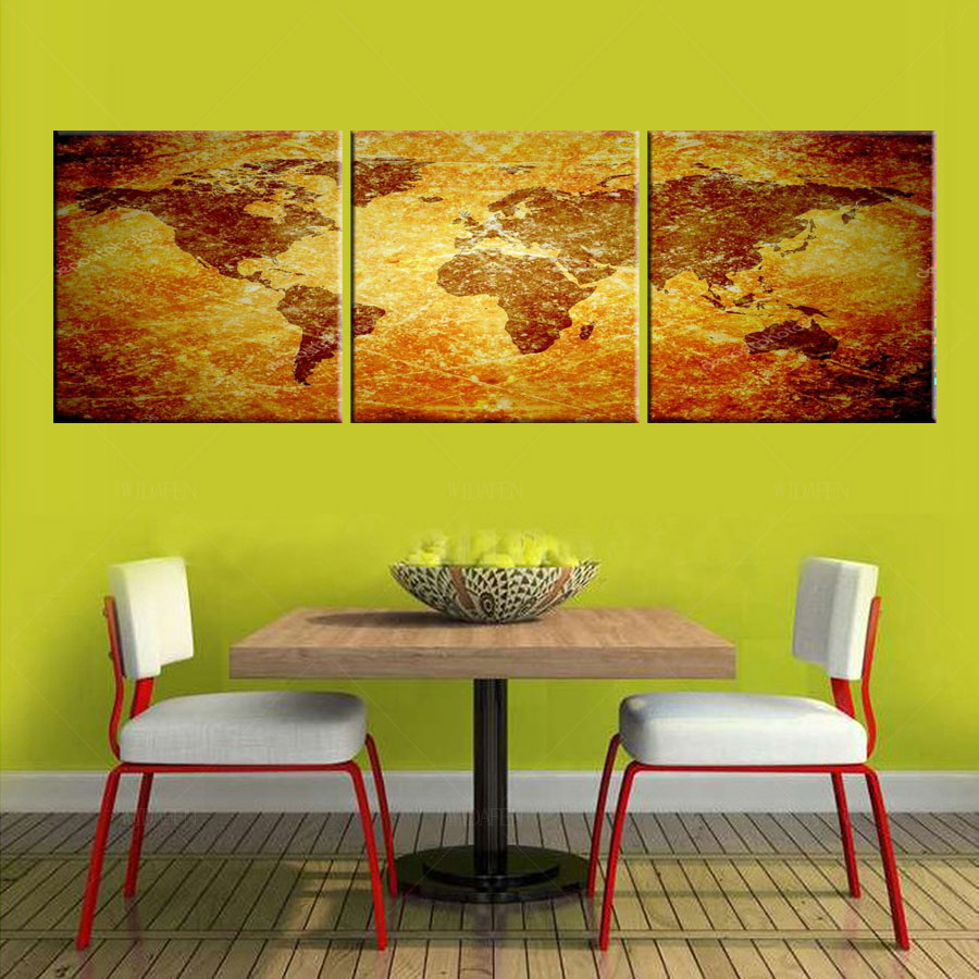 HD print poster modular picture 3 piece canvas art wall pictures ...
