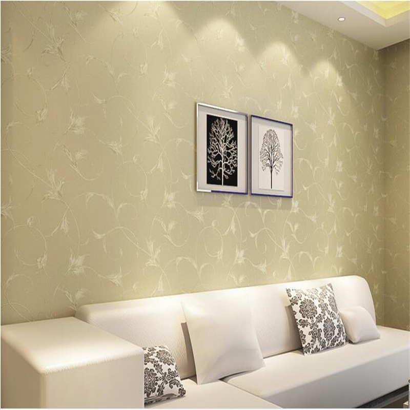 beibehang Non - woven wallpaper TV backdrop living room European - style wallpaper bedroom bedroom wedding room wallpaper white beibehang blue wallpaper non woven