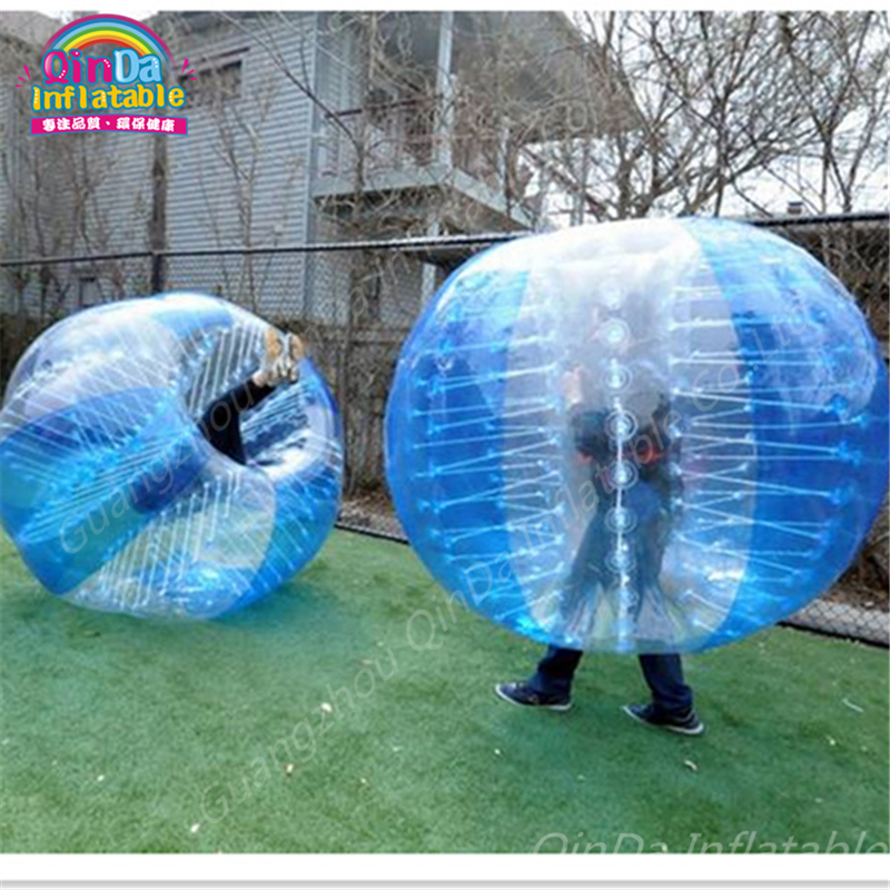 Inflatable Bubbles Soccer,Globe bumper footballs Inflatable Body Bumper High Bounce footBall customized color