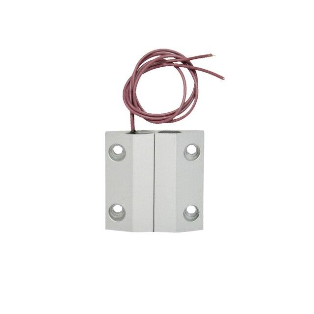 1 paire filaire interrupteur magn tique alarme de porte ouverte fen tre d 39 alarme nc signal d. Black Bedroom Furniture Sets. Home Design Ideas