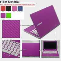 Hot pure color autoadesivo del computer portatile antipolvere abc lati pelli di protezione decal adesivi per lenovo yoga 3 14/yoga 3 11/b4320/m4450