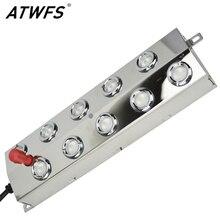 ATWFS 10 رئيس 5 كجم بالموجات فوق الصوتية الهواء المرطب ضباب صانع مبيد الفولاذ المقاوم للصدأ بالموجات فوق الصوتية الأنظف البخاخات نافورة البخاخات