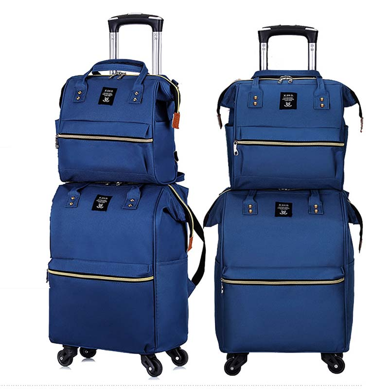 LeTrend Fashion Large Capacity Spinner Rolling Luggage Set Multifunction Suitcase Wheels 20 Inch Women Cabin Trolley Travel Bags