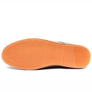 Image 4 - Мужские повседневные туфли Reetene, коллекция 2020 года, мужские модные туфли, удобные летние туфли на плоской подошве, Модель 38 48