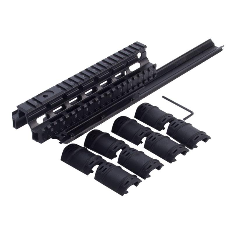 Saiga 12 Shotgun Tactical Quad Rail A través del alcance Montaje de - Caza - foto 2