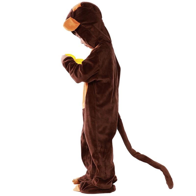 f737f918d Boy s Girl s Animal Monkey Pajamas Child Pyjamas Monkey Costume ...