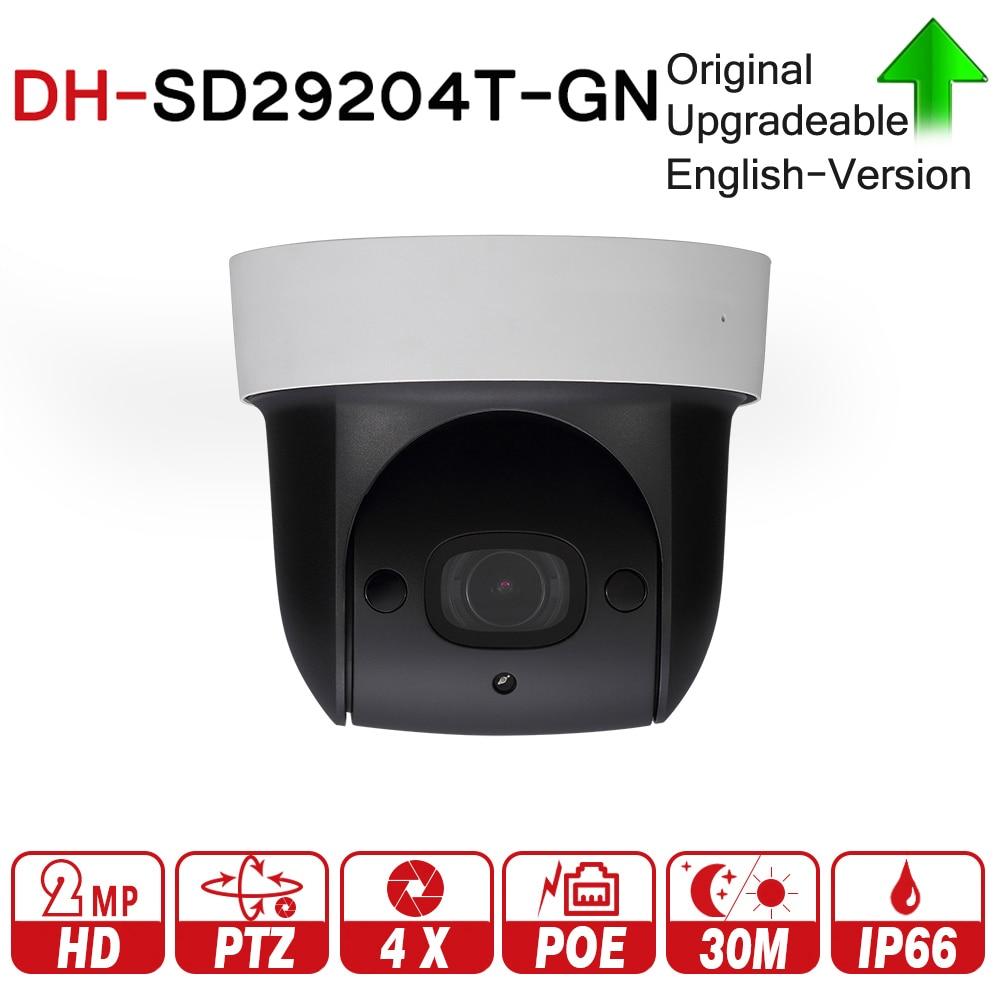 DH SD29204T-GN con logo originale 2MP 1080 P 4X Zoom Ottico PTZ Network IP Camera Tripla-flussi di 30 M visione Notturna ICR WDR POE