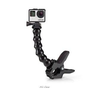 Image 1 - Jaws Flex Clamp Mount for GoPro Accessories Gopro Hero 7/6 3 3+ 4 4 session SJCAM SJ4000 SJ5000 M20 XIAOMI YI 2 4k Eken h9r /h9