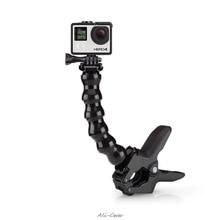 Maxilas flex braçadeira de montagem para gopro acessórios gopro hero 7/6 3 + 4 4 sessão sjcam sj4000 sj5000 m20 xiaomi yi 2 4k eken h9r /h9