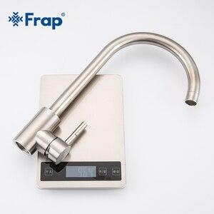 Image 5 - Frap mutfak musluklar paslanmaz çelik mutfak mikseri tek kolu tek delik sıcaklık ayarlı mutfak musluğu evye musluğu mutfak musluk Y40107