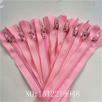 50pcs Pink 3# Closed Nylon Coil Zippers Tailor Sewing Craft (12 Inch) 30 CM Crafter's &FGDQRS