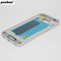 Panbon Replacement Parts For Samsung Galaxy S7 G930 G930F Middle Housing Bezel Frame White Grey Gold