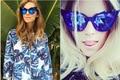 12 unids/lote Onda Retro Partido Pluma de La Manera de Las Mujeres Del Ojo de Gato Gradiente Lente gafas de SOL de Marco 97077 Gafas De Sol De Acetato