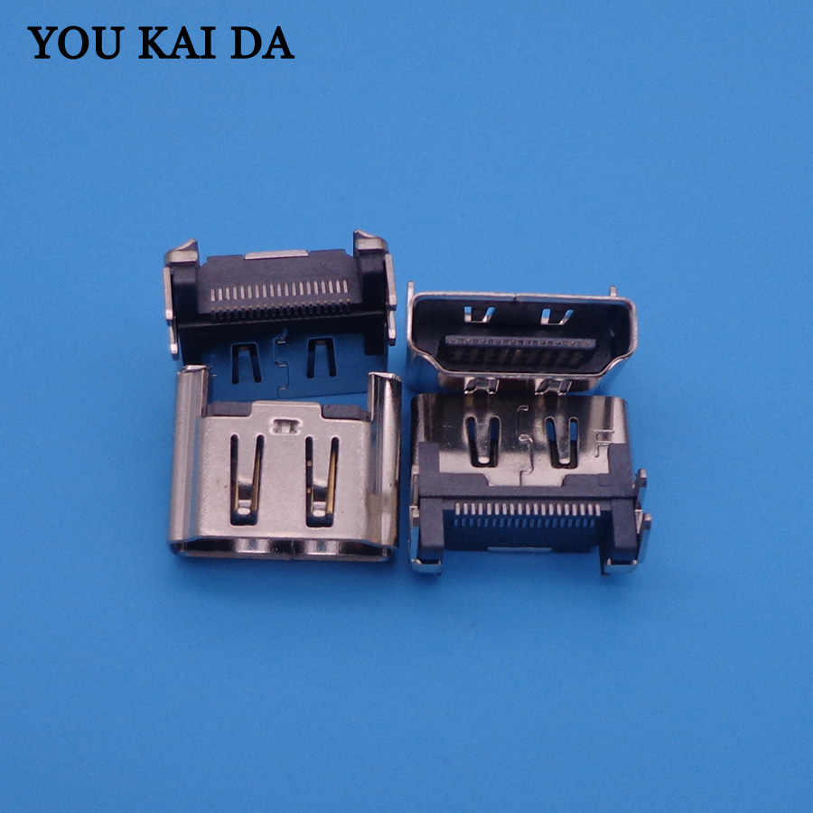 US $4 98 11% OFF 3PCS for Playstation 4 Play Station 4 PS4 HDMI Port Socket  Interface Connector Repair Parts Motherboard Port Jack Connector-in