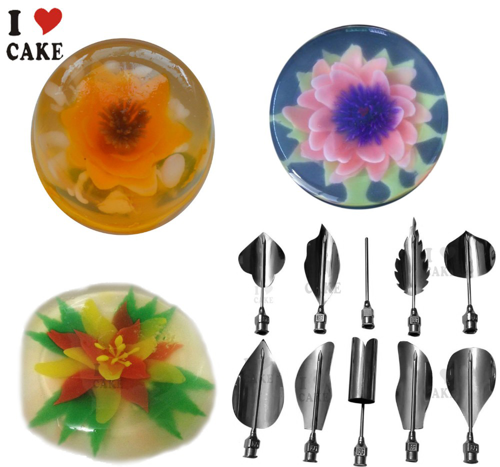 How To Use Jelly Cake Flower Tools