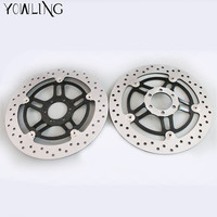 YOWLING Motorcycle Parts Accessories Front Floating Brake Discs Rotor For Honda Hornet 250 CB250 1996 2001