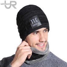 89189d3eb15 2018 New Winter Hats Neck Warmer Hat NC Label Skullies Beanies Hat Winter  Beanies For Men