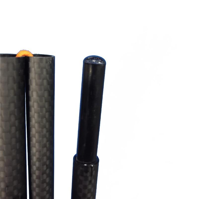 65 grams per piece ultralight Carbon Fiber Pyramid Tent Poles Double A tent pole Zpacks 3F Lanshan1 tent pole