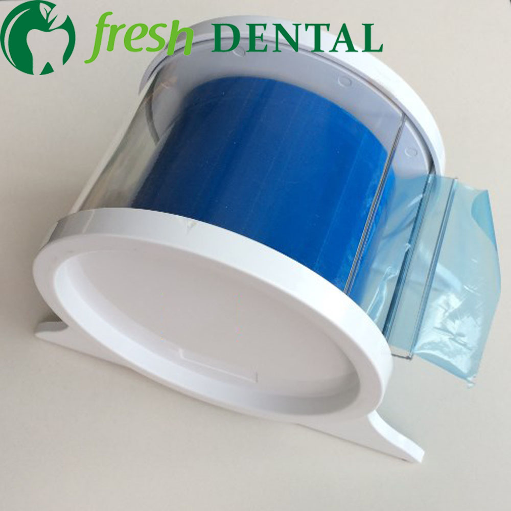 1Pc Dental Medical box protective film barrier film Holder plastic rack oral dental materials antifouling film SL438 developing oral communication materials for thai immigration officers