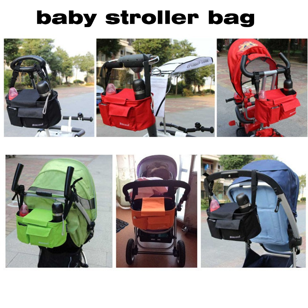 Baby Stroller Storage Bottle Diapers Organizer Bag Handbag Travel Thomas Accessory In Three Wheels From